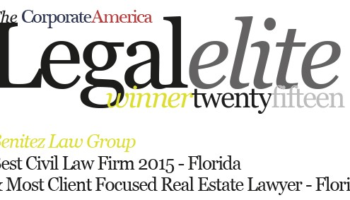 Corporate America Legal Elite Award